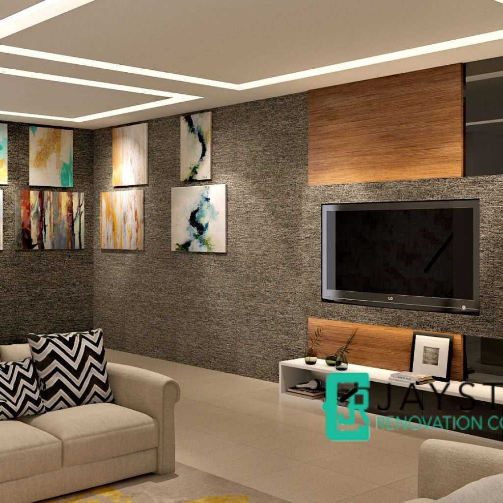 Home Office Renovation Contractor Condo Kitchen Design: Landed Renovation Singapore-Yio Chu Kang Road
